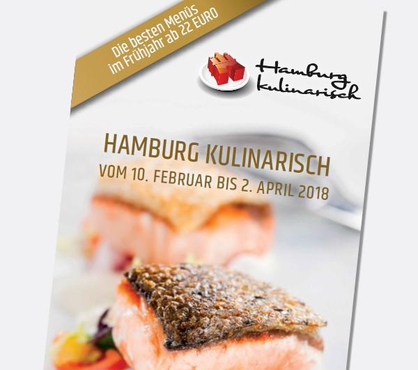 Broschüre Hamburg Kulinarisch 2018